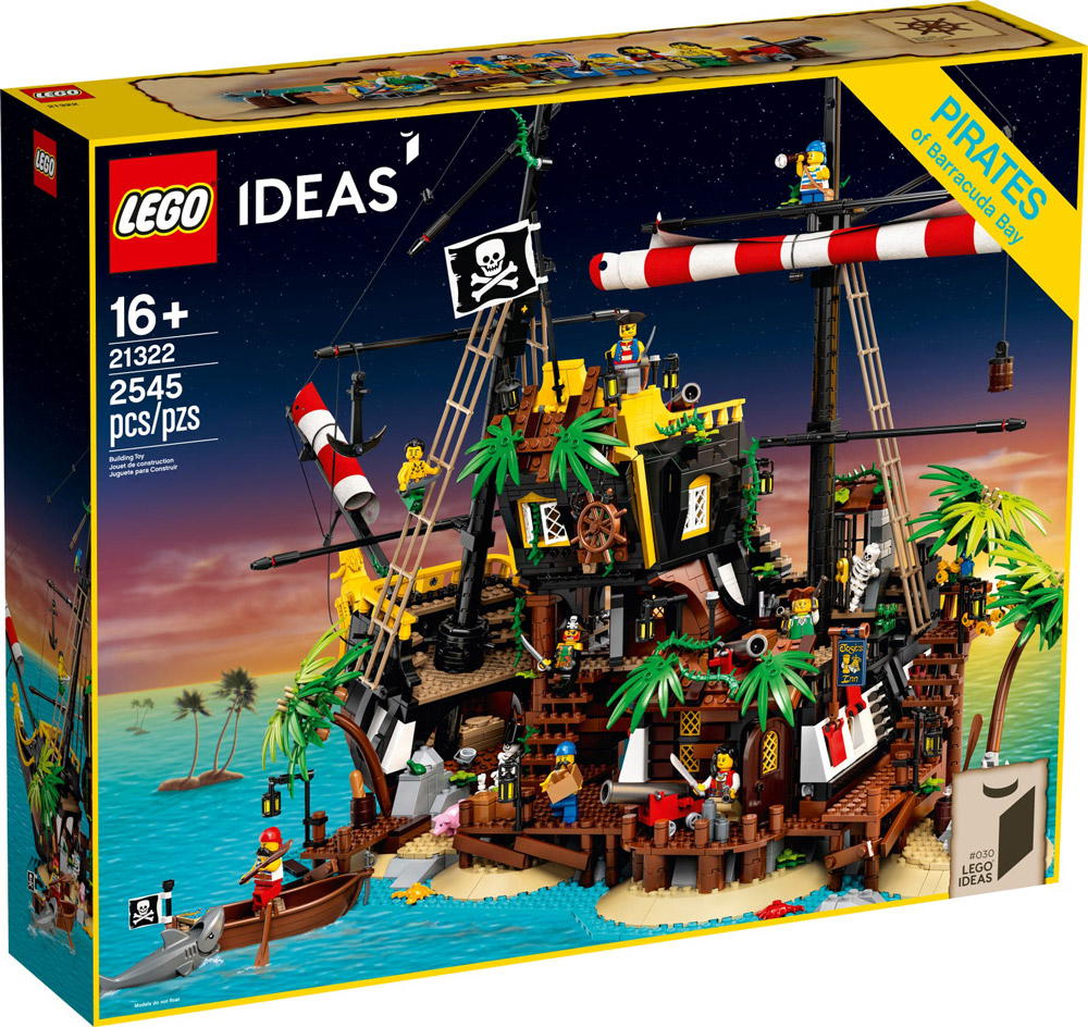 Lego Pirates Of Barracuda Bay (21322) Set Box