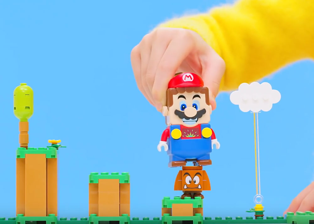 Lego Goomba And Mario