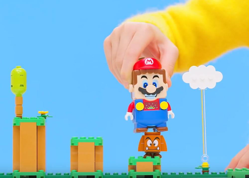 Lego Goomba And Mario