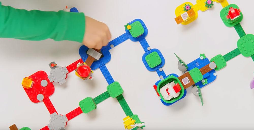 Lego Mario Party Video Game