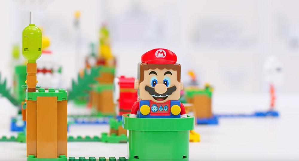 Lego Super Mario Warp Pipe