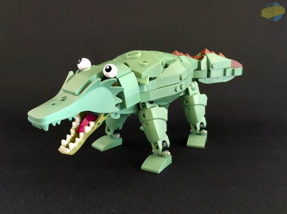 Crocodile Jack Just Wants To Say Hi