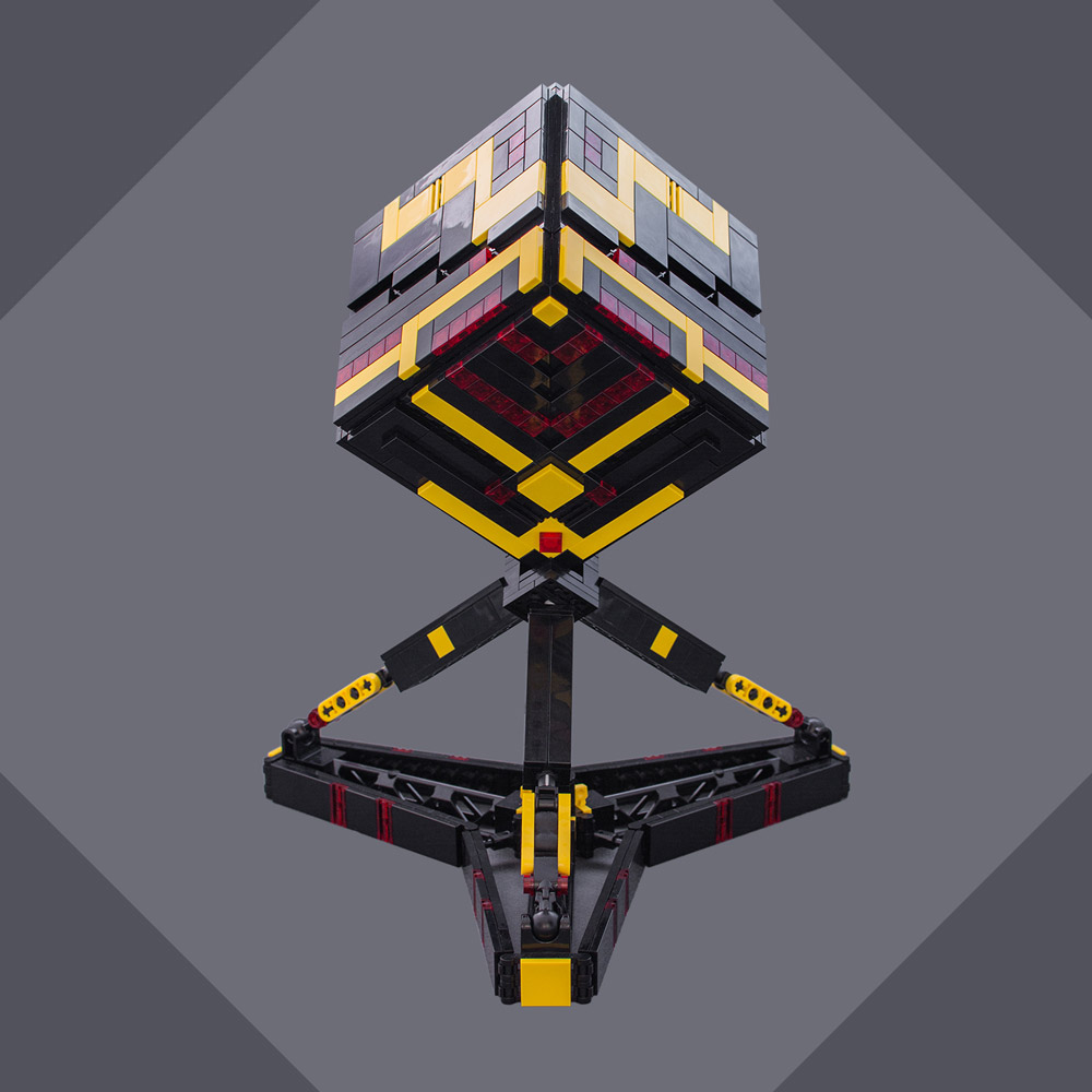 The Cubo Scout Drone Back