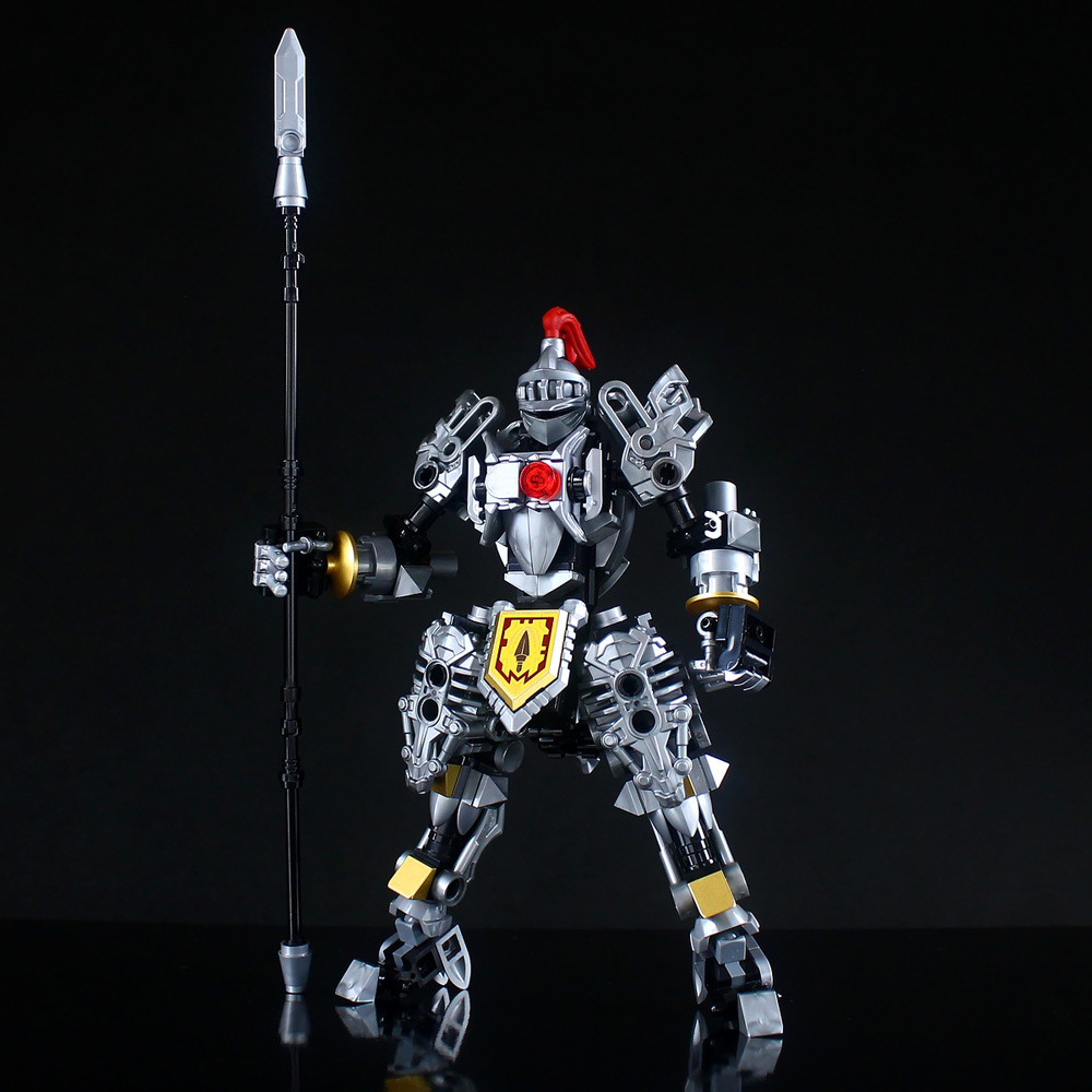 The Lego Knights Mech, 軽装型鉄機兵