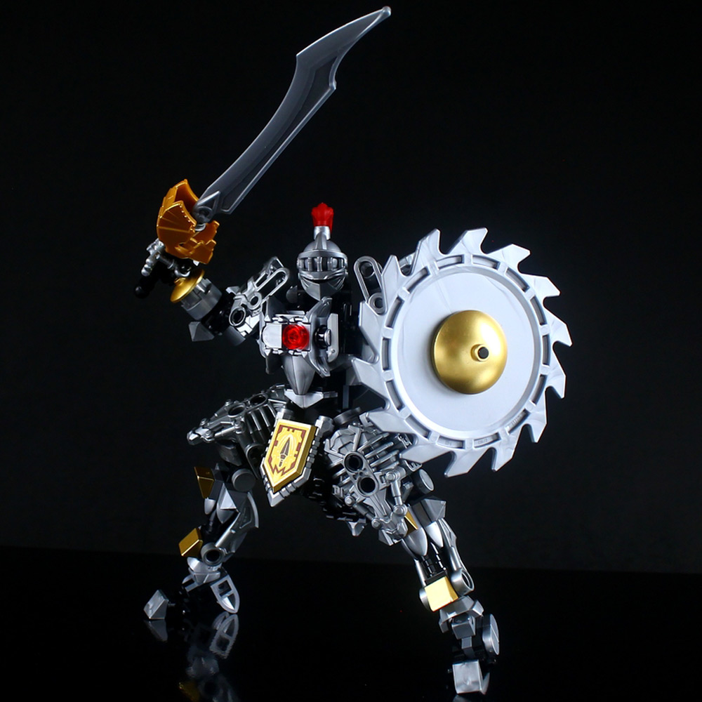 The Lego Knights Mech, 軽装型鉄機兵 Shield