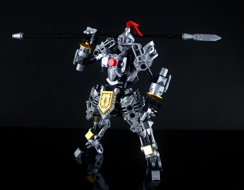 The Lego Knights Mech, 軽装型鉄機兵 Spear