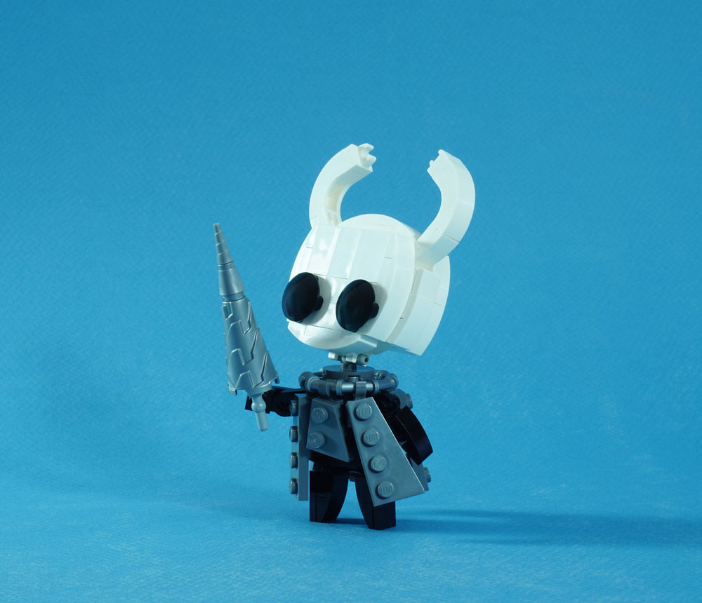 Lego Hollow Knight Video Game Character Detail