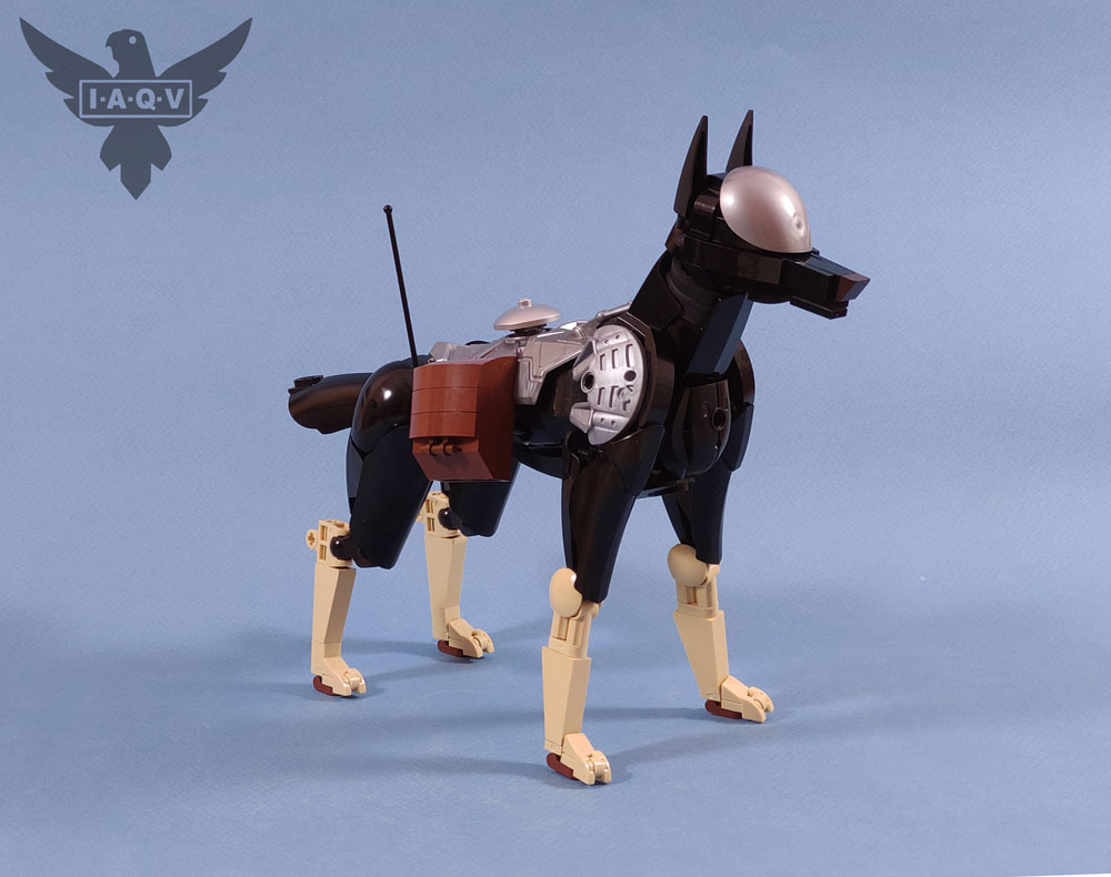 The Lego K-9 Multi-Purpose Support Unit, Dog