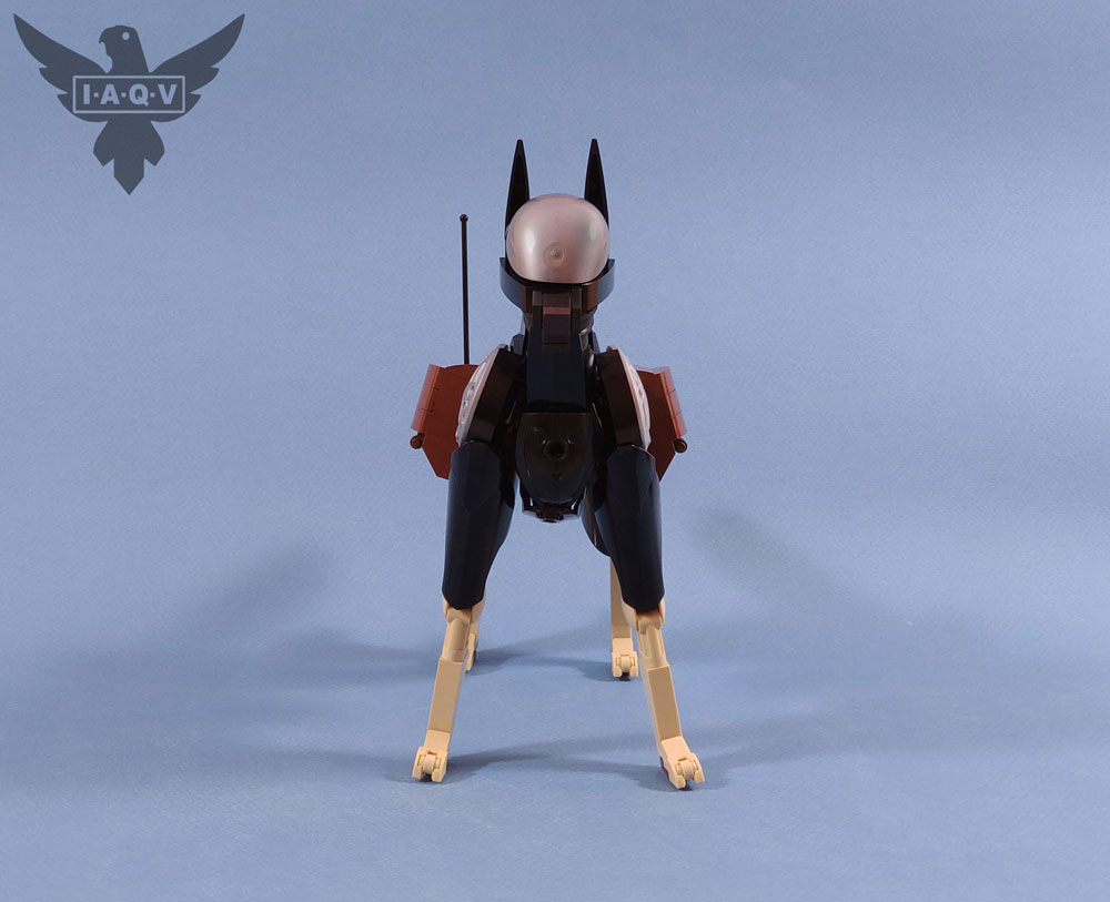The Lego K-9 Multi-Purpose Support Unit, Dog Front