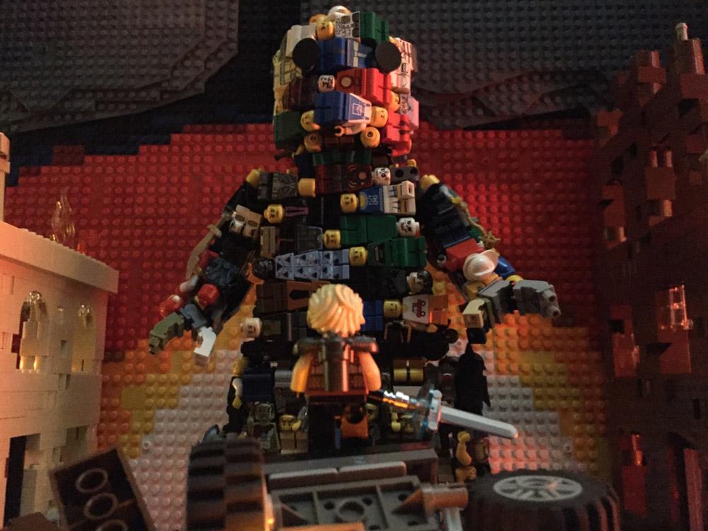 It's The Final Battle, A Lego MOC