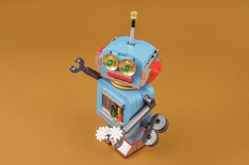 A Lego Clockwork Robot Named Fetchbot