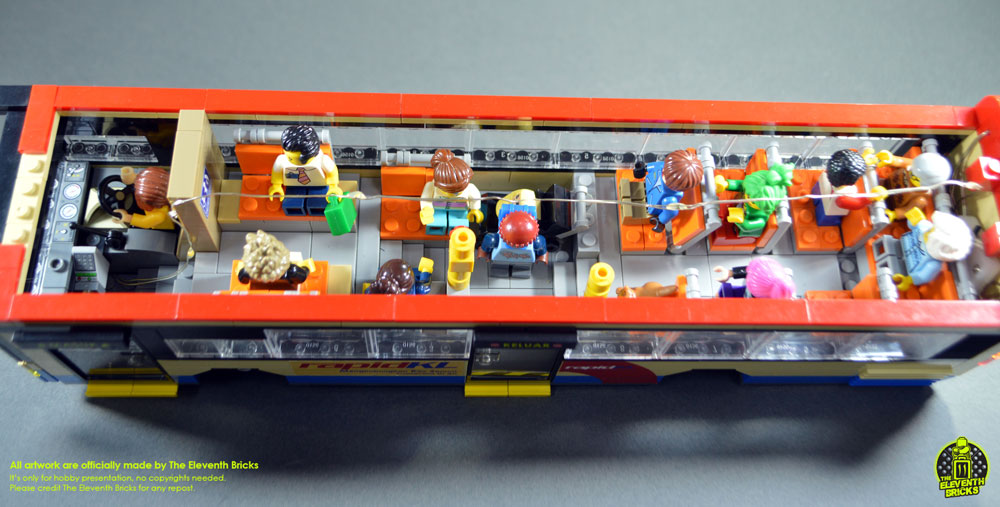 Lego Bus Rapid KL Interior
