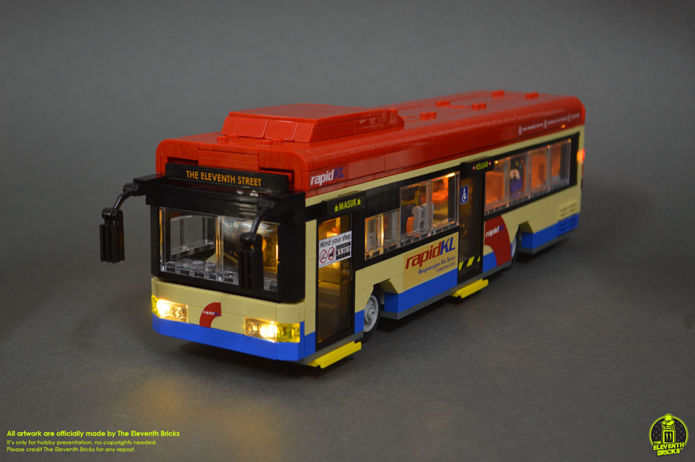 Lego Bus With Lights