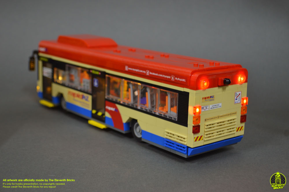 Lego Bus Night Lighting