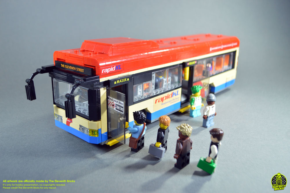 Lego Bus Rapid KL