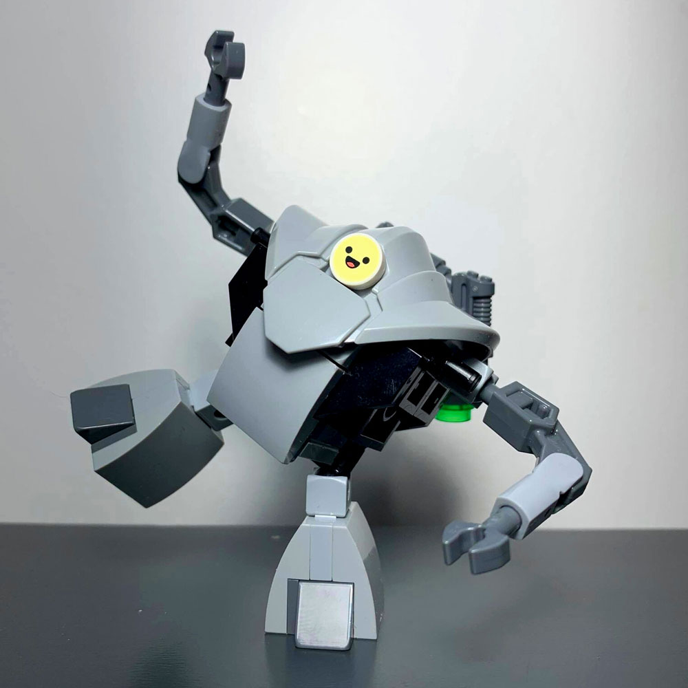 The Lego Household Arrival People Introducer Robot - HAPI