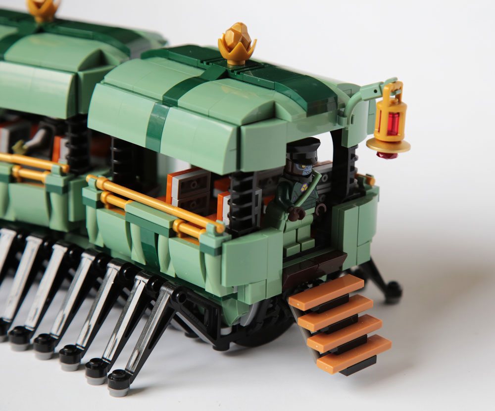 Lego Myriapodobus Caboose