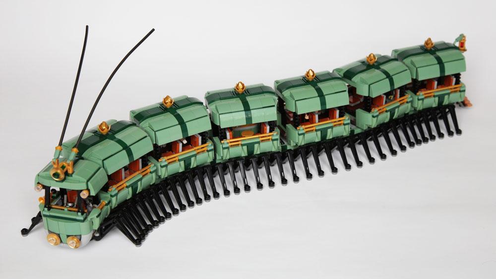 Lego Myriapodobus, Insect Bus
