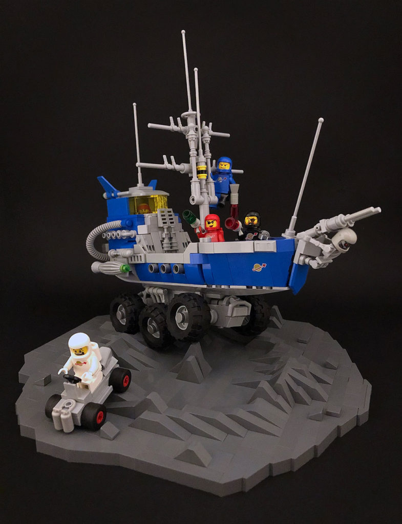 Lego Classic Space Pirates On The Moon