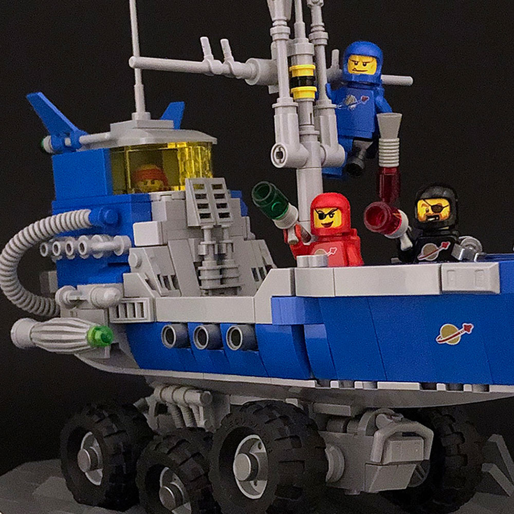 Lego Classic Space Pirates Minifigures