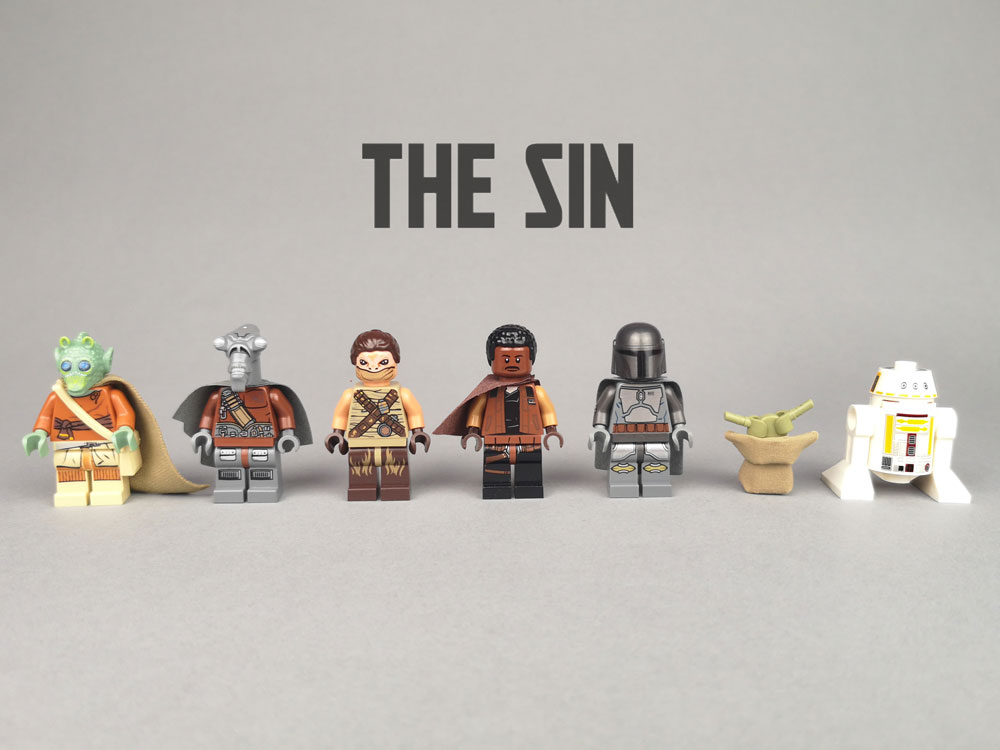 Chapter 3: The Sin, A Lego Mandalorian MOC Minifigures