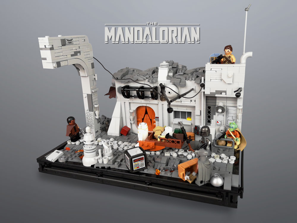 Chapter 3: The Sin, A Lego Mandalorian MOC