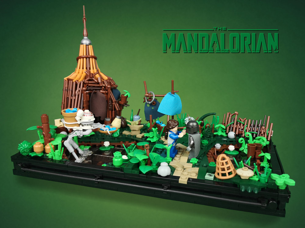 Chapter 4: Sanctuary, A Lego Mandalorian MOC
