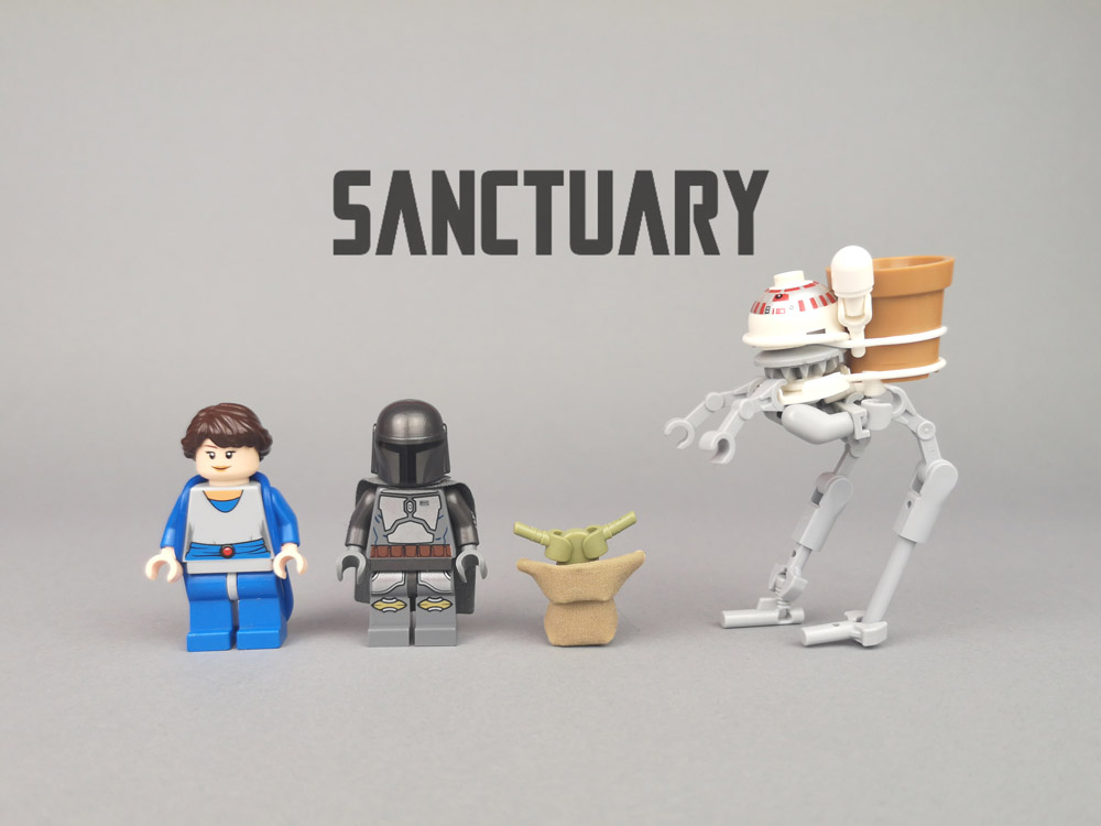 Chapter 4: Sanctuary, Lego Mandalorian Minifigures