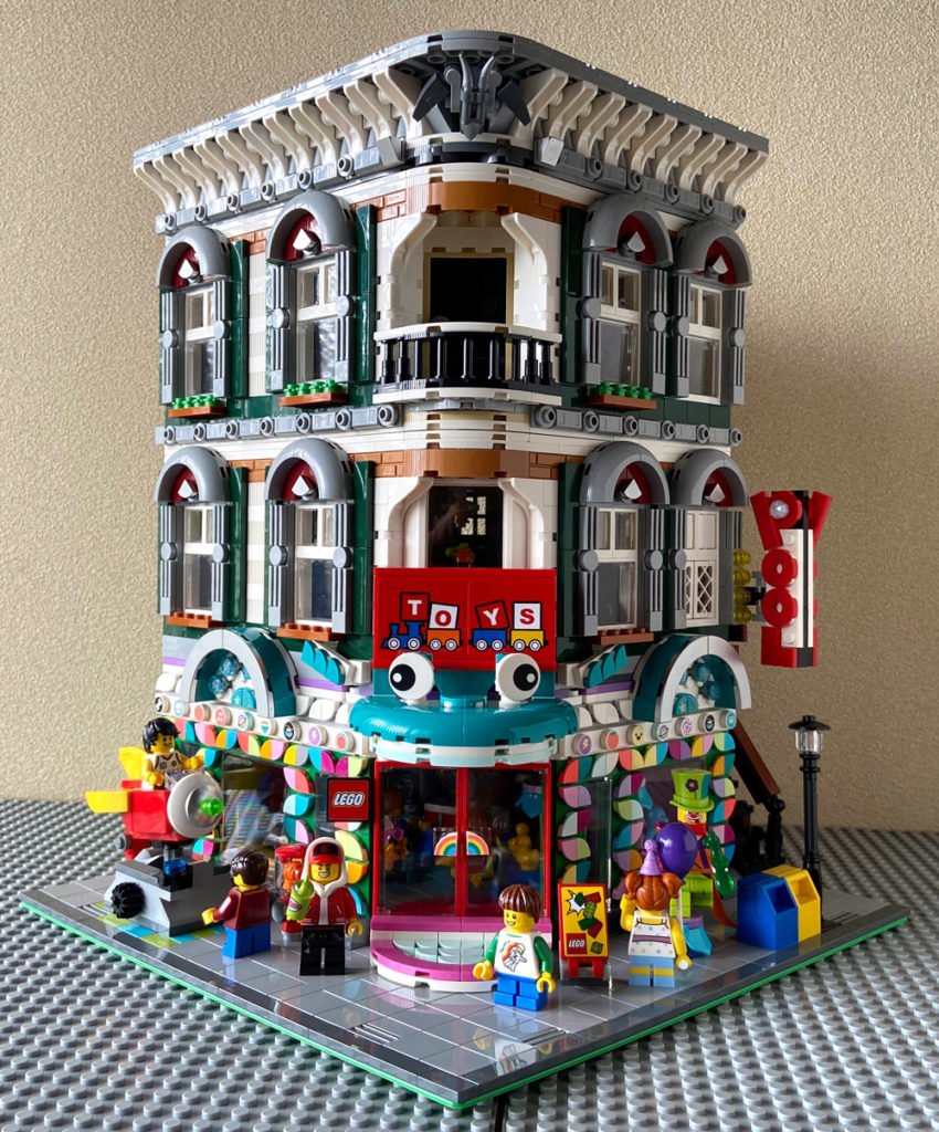 The Corner Toy Shop - A Modular Lego MOC