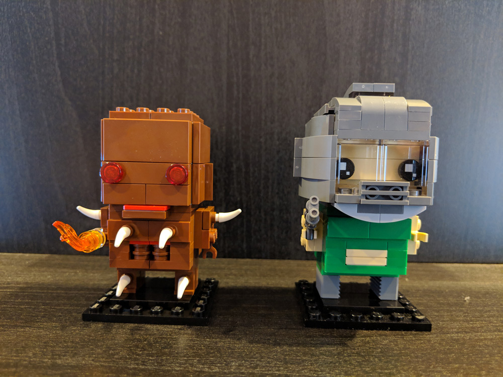 Lego Imp And Doom Slayer