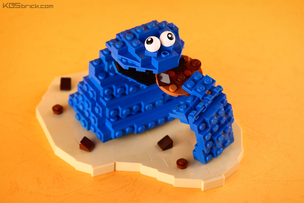 Mmm Cookie… Look Out For The Lego Cookie Monster