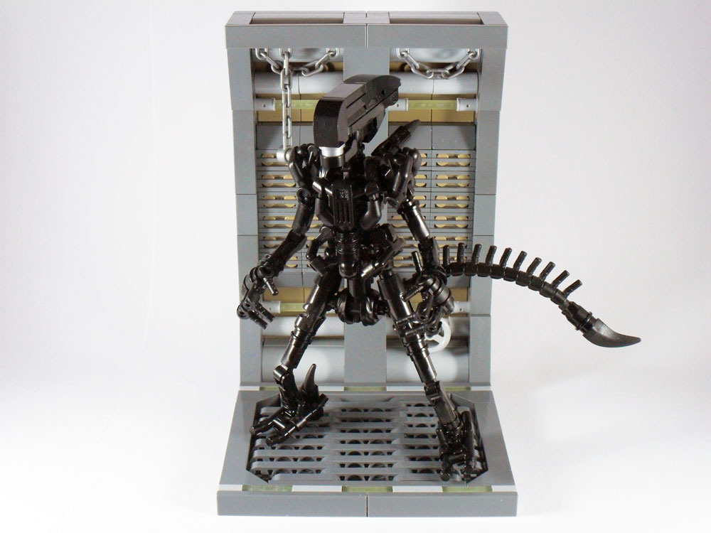 This Lego Xenomorph Is On The Prowl
