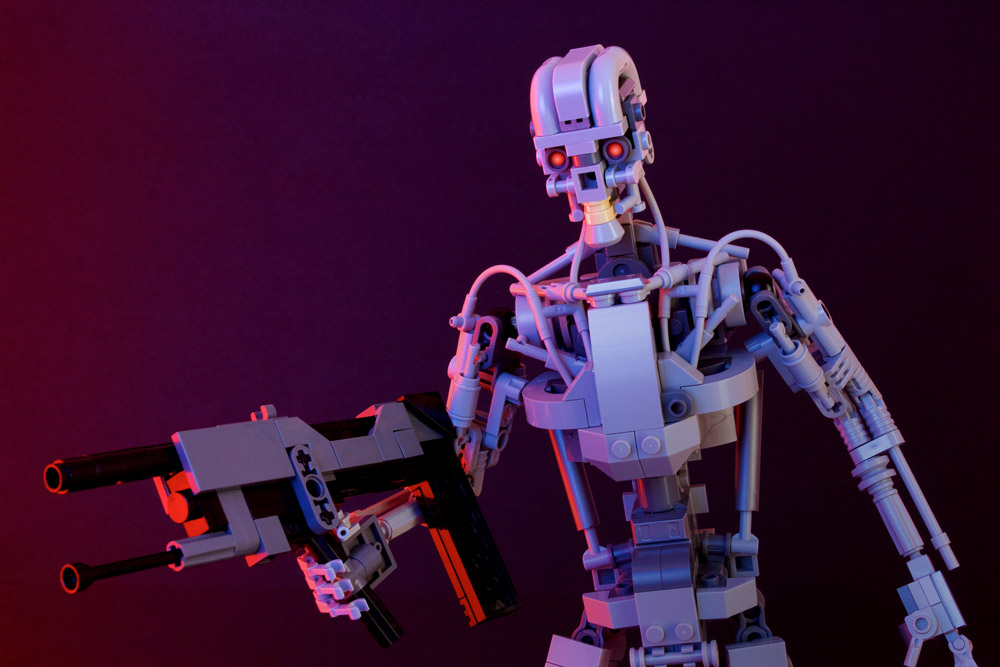 The Lego Terminator T-800 Will Be Back