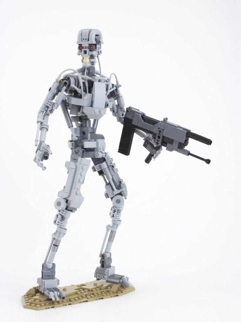 The Lego Terminator Will Be Back, Full T-800 Robot