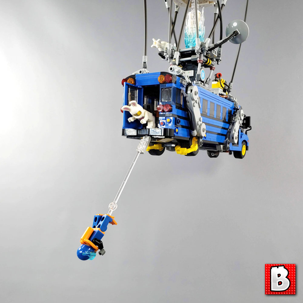Jump Out Of This Lego Fortnite Battle Bus & Instructions