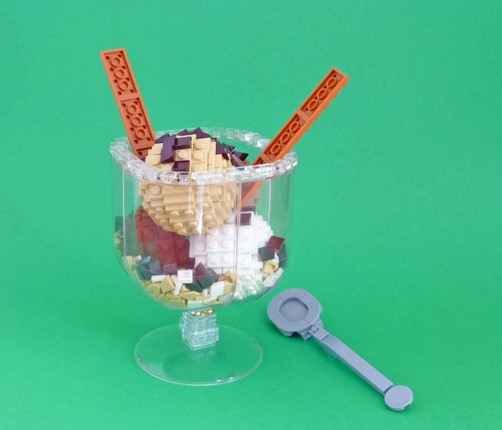 Treat Yourself To A Lego Sundae