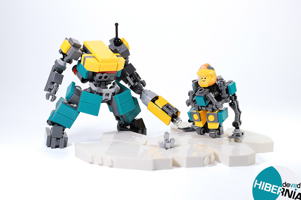 Mining For Lego Fuel With EXT01 And Nick