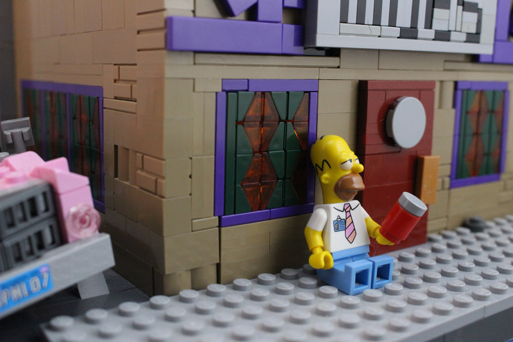 Lego Moe's Tavern, Where The Elite Meet To Drink - Homer - The Simpsons