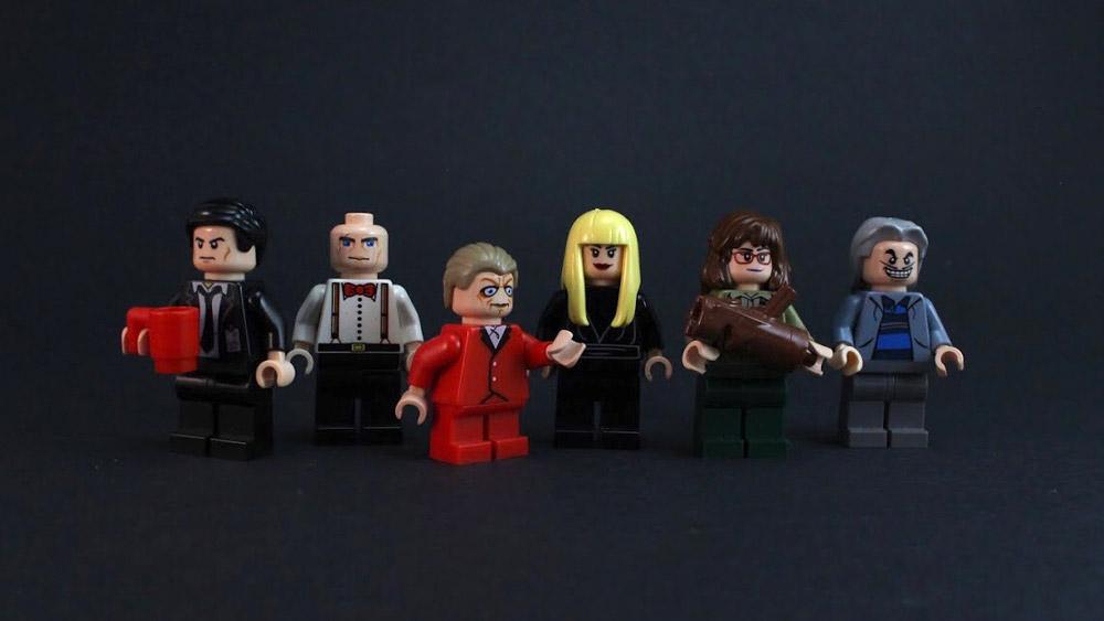 Lego Twin Peaks Minifigures