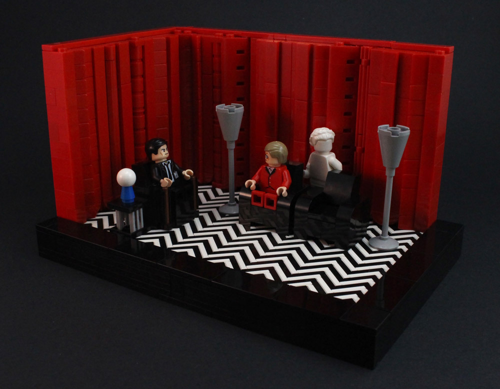 Lego Twin Peaks And The Black Lodge