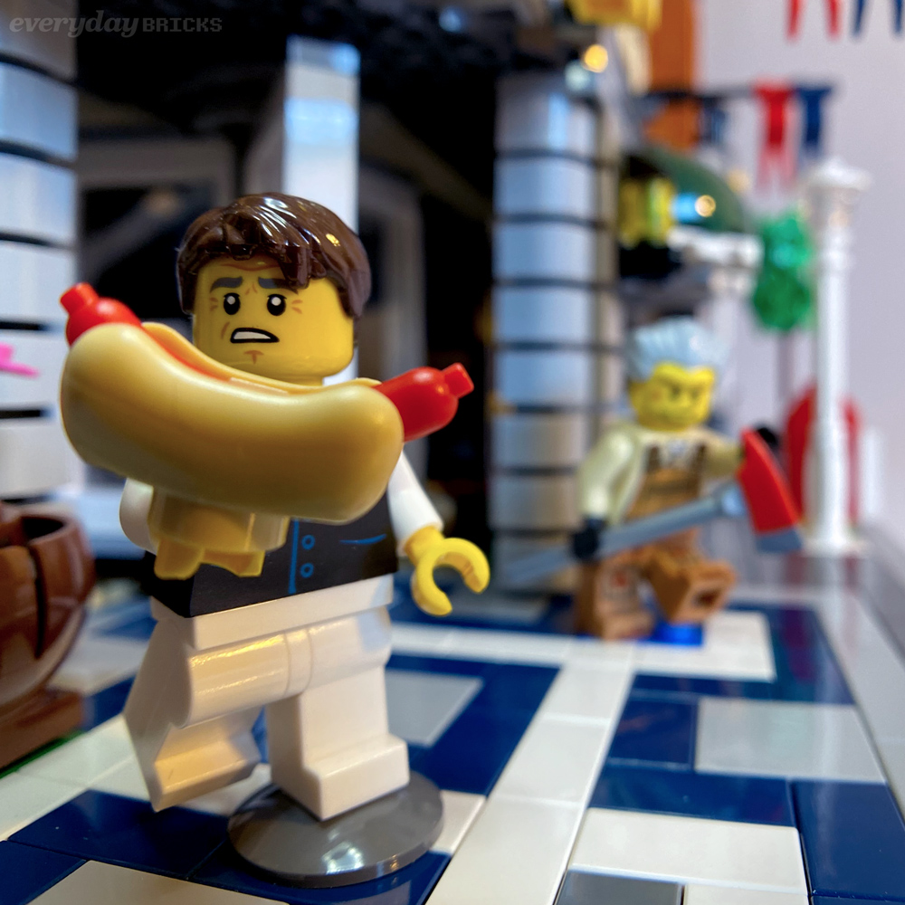 Everyday Bricks 00419: I Just Want A Hot Dog