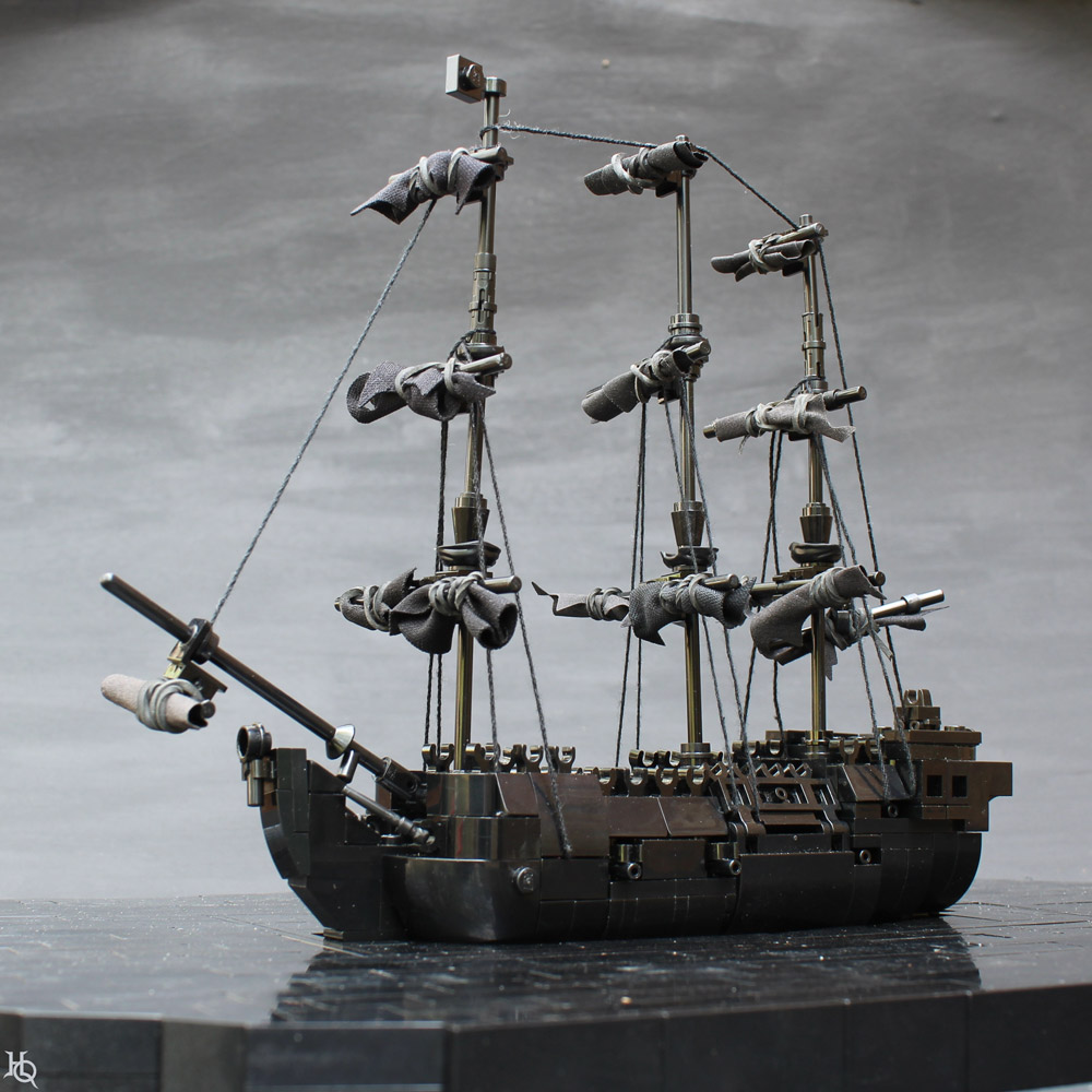 The Monochrome Lego Black Pearl