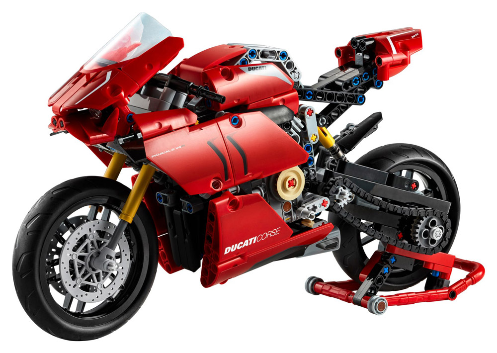 The Ducati Panigale V4 R 42107, Lego Technic Set