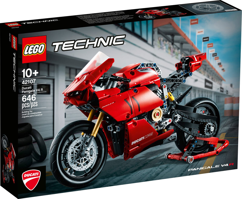 The Ducati Panigale V4 R (42107), A New Lego Technic Set Announced