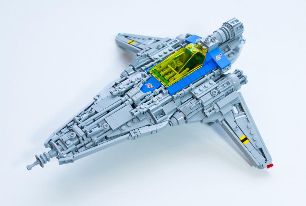The LL-527 Falchion Starfighter, Lego MOC