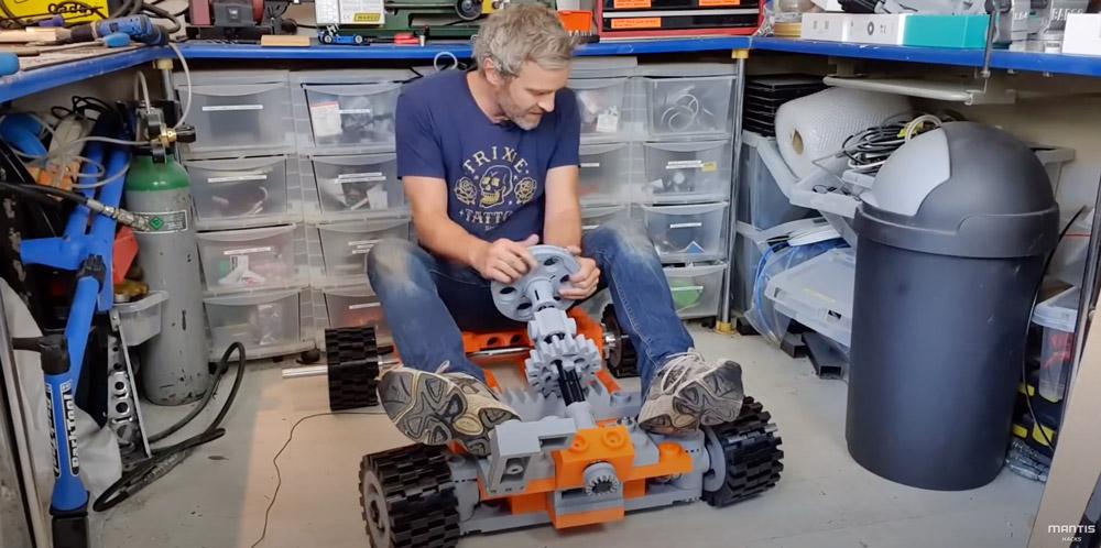 Zoom Around On This Life-Sized Lego Go-Kart, Mantis Hacks