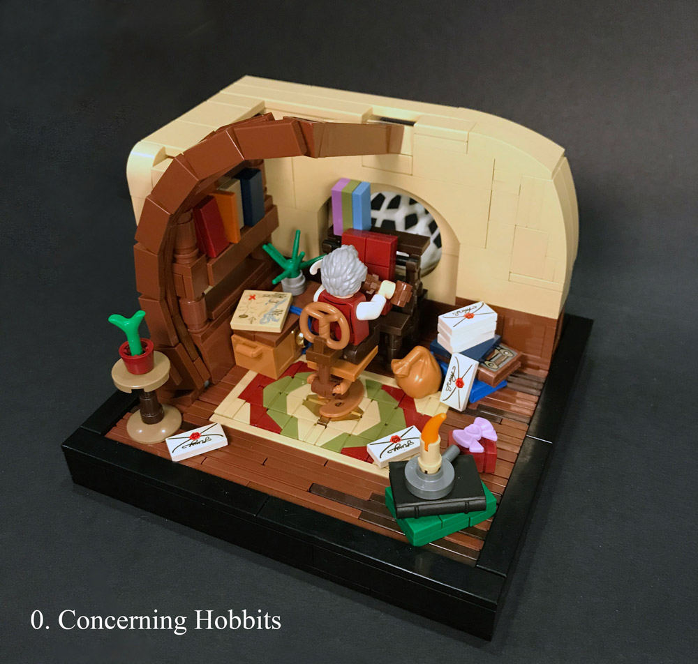 Prologue: Concerning Hobbits, A Lego LOTR Series
