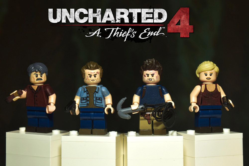 Explore These Custom Uncharted 4 Lego Minifigures