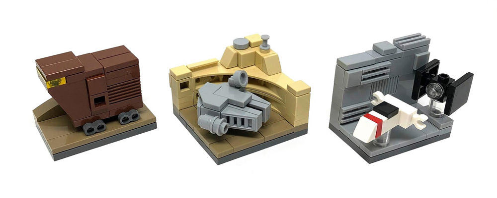 In A Tiny Galaxy Far, Far Away - Microscale Lego Star Wars, Episode IV - A New Hope