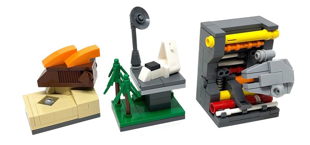 In A Tiny Galaxy Far, Far Away - Microscale Lego Star Wars, Episode VI - Return Of The Jedi